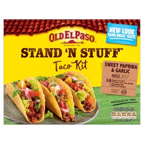 Old El Paso Stand 'N' Stuff Garlic & Paprika Taco Kit