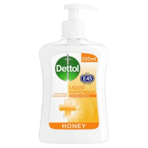 Dettol with E45 Honey Hand Wash