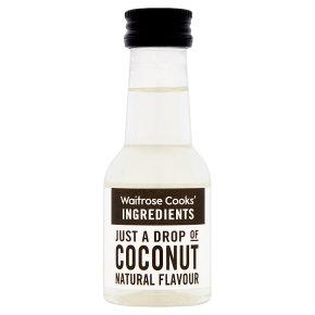 Waitrose Cooks' Homebaking coconut flavouring