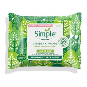 Simple Wipes Bio-degradable