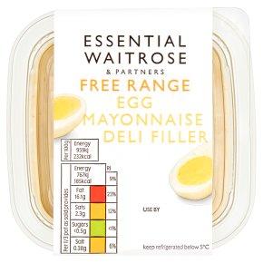 essential Waitrose Egg Mayonnaise Deli Filler