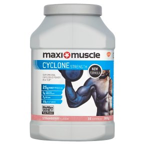 Maxi Muscle Cyclone Strength Strawberry