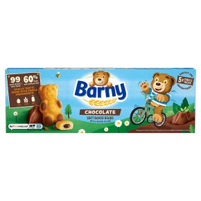 Barny chocolate sponge bear biscuits