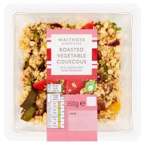 Waitrose couscous & roasted vegetable salad
