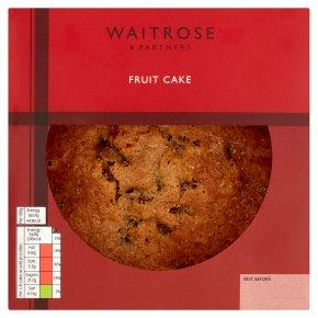 Waitrose fruit cake