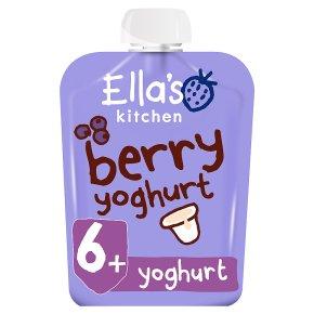 Ella's Kitchen berry yoghurt