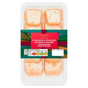 Waitrose Xmas Smkd & Poach Salmon Canapes