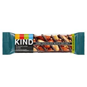 Kind Nuts & Spices Dark Chocolate Nuts& Sea Salt Bar