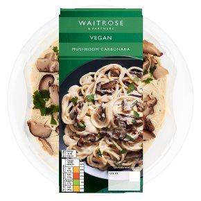 Waitrose Vegan Mushroom Carbonara