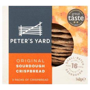 Artisan original flavoured crispbread