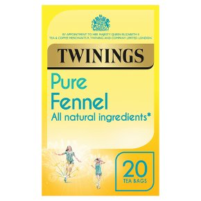 Twinings fennel 20 tea bags