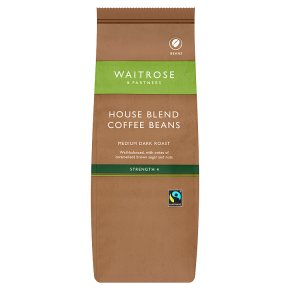 Waitrose Café House Blend Coffee Beans