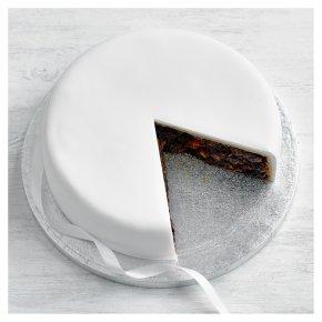 Undecorated Fruit Cake