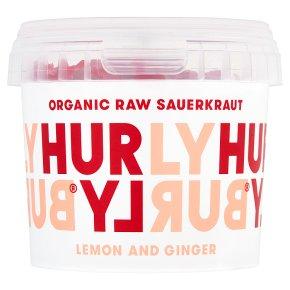 Hurly Burly Lemon and Ginger Fermented Raw Slaw