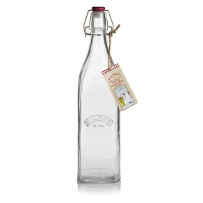 Kilner 1L clip top preserving bottle
