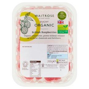 Waitrose Duchy Organic frozen English raspberries