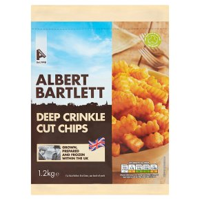 Albert Bartlett Rooster Deep Crinkle Cut Chips