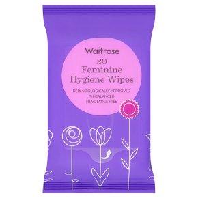 Waitrose Feminine Hygiene Wipes