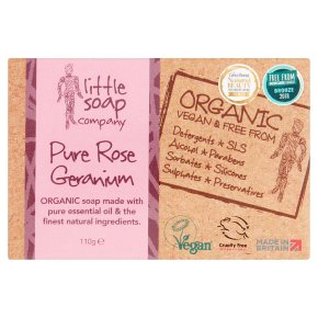 Little Soap Pure Rose Geranium