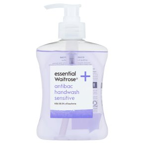 essential Waitrose sensitive handwash