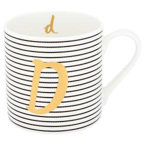 Waitrose 'D' Bone China Mug