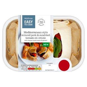 Easy To Cook Mediterranean Minced Pork en Croute