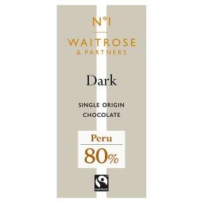 No.1 Peru Dark Chocolate 80%
