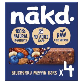 Nakd Bluberry Muffin Wholefood Bars