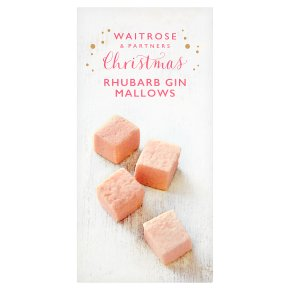Waitrose Christmas Rhubarb Gin Mallows