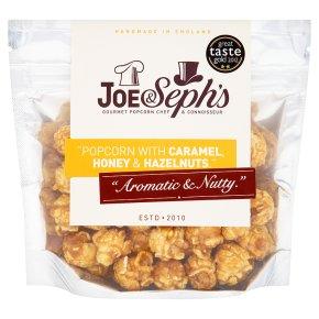 Joe & Seph's caramel, honey & hazelnuts popcorn