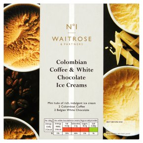 No.1 Colombian Coffee & White Chocolate Mini Tubs