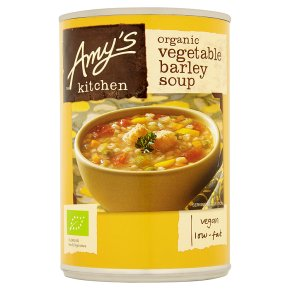 Amy's Kitchen low fat vegetable & barley soup