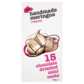Handmade Meringue Co. mini chocolate nests