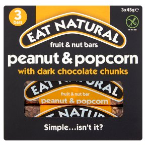 Eat Natural bars peanut & popcorn with dark chocolate