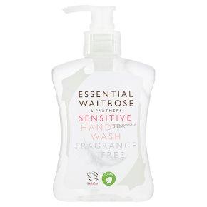 essential Waitrose Sensitive Hand Wash