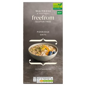 Waitrose Free From Porridge Oats