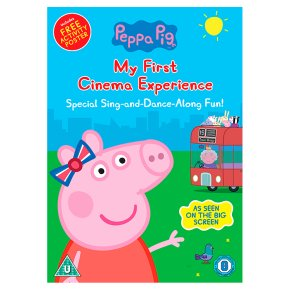DVD Peppa Pig: My First Cinema Experience