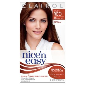 Nice n Easy Natural Dark Auburn 112 Hair Colour