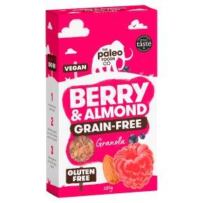 The Paleo Foods Co Grain-Free Granola Berry & Almond