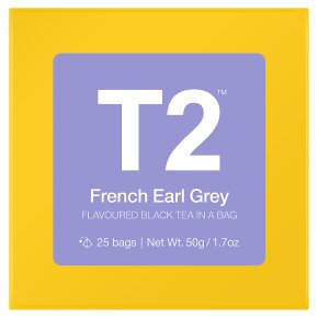 T2 French Earl Grey 25 Bags