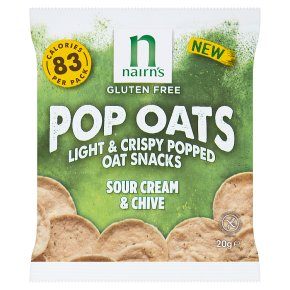 Nairn's Pop Oats Sour Cream & Chives