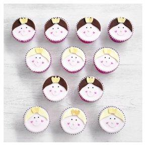 Fiona Cairns Princess Cupcakes