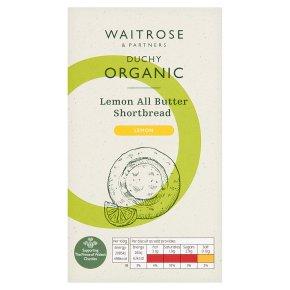 Waitrose Duchy Lemon Shortbread