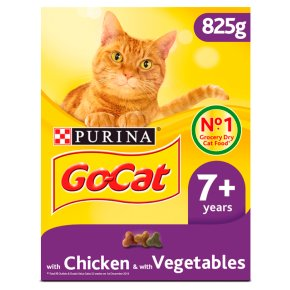 Go-Cat Senior Dry Cat Food Chicken Rice and Veg