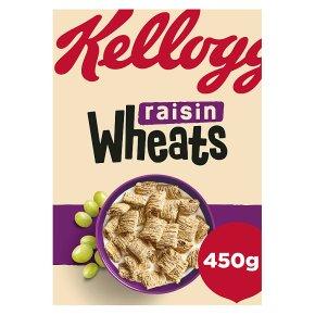 W.K. Kellogg Cereal Organic Wholegrain Wheats Raisin