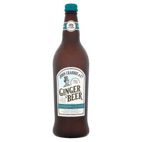 John Crabbie's traditional cloudy ginger beer