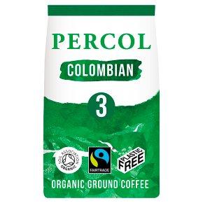 Percol Fairtrade Colombian Ground Coffee