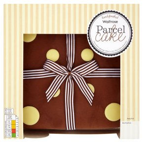 Waitrose Parcel Cake