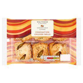 Waitrose Coronation Chicken Rolls