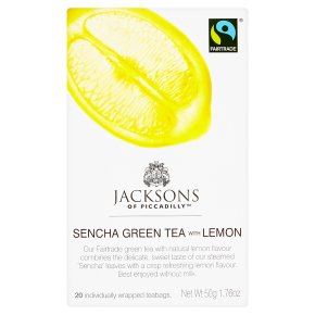 Jacksons Sencha Green Tea with Lemon
